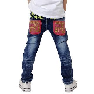 Model Celana Jeans Anak Laki-Laki Terkini