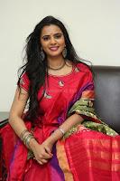 Manasa in Pink Salwar At Fashion Designer Son of Ladies Tailor Press Meet Pics ~  Exclusive 35.JPG