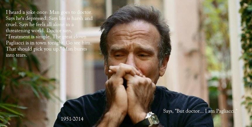 Literrata Robin Williams Magic Mirror