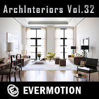 Evermotion Archinteriors vol.32室內3D模型第32期下載