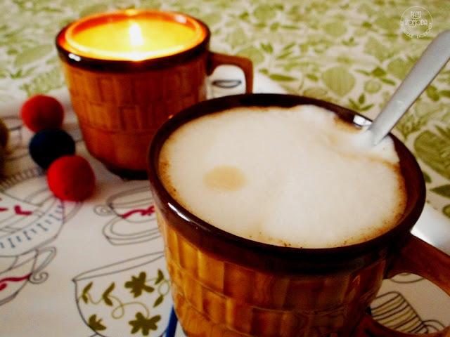 kawa świeczka