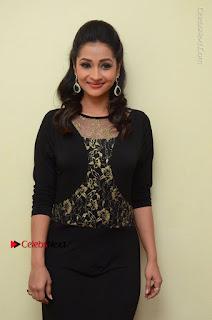 Telugu Actress Manasa Manohar Stills in Black Long Dress at Naku Nene Thopu Turumu Trailer Launch  0028.JPG