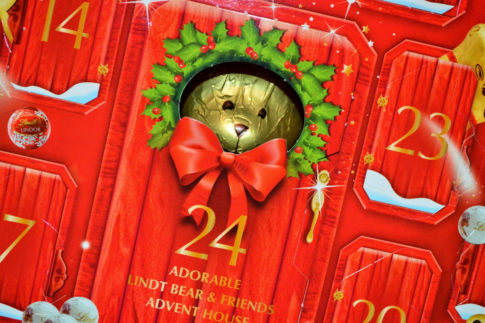 Lindt Bear Adorable Advent Calendar