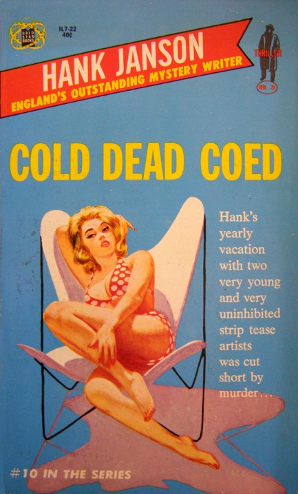 Image result for cold dead coed pulp cover
