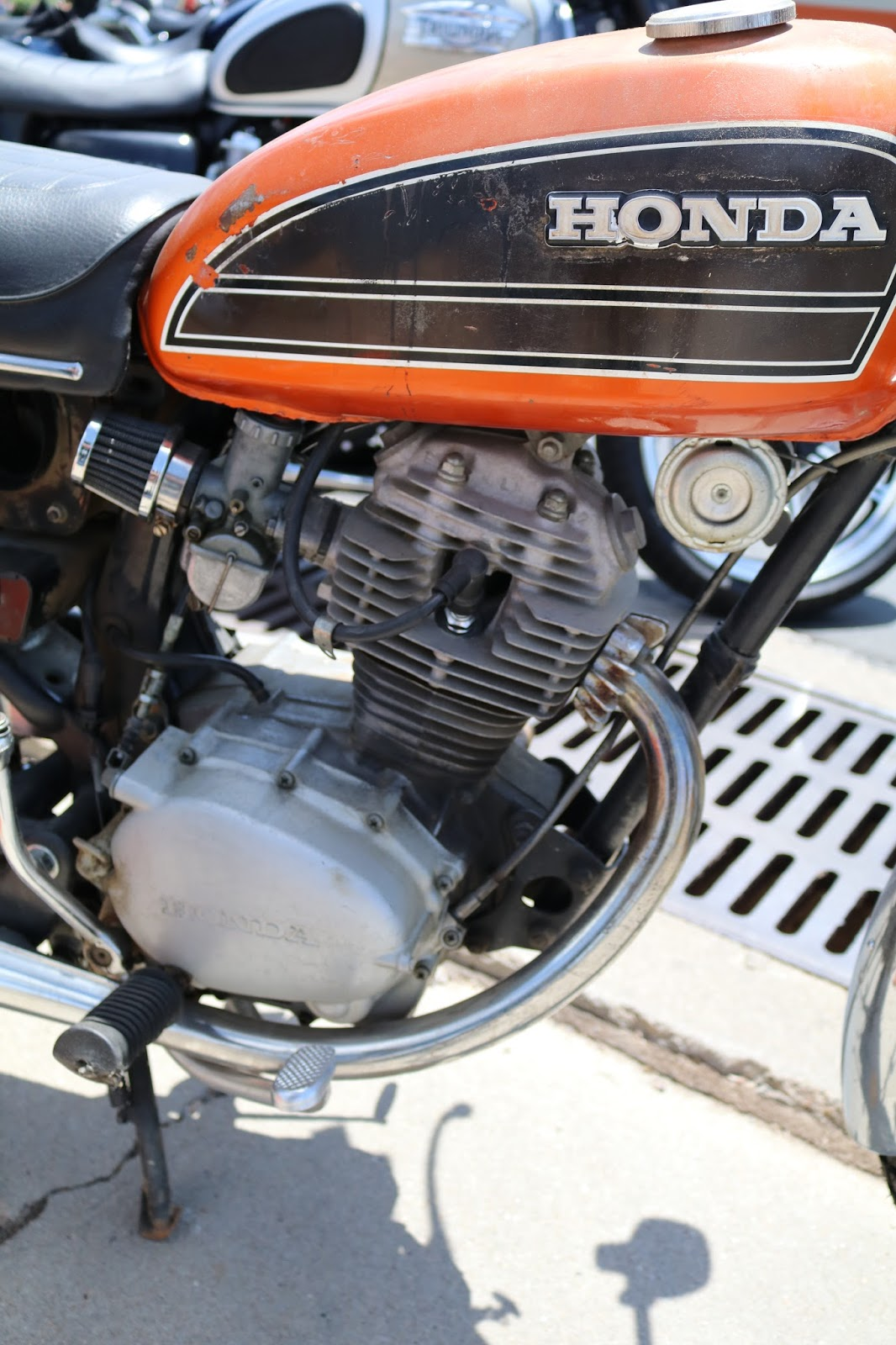 Oldmotodude Honda Cb125 At The Vintage Motorcycle Show