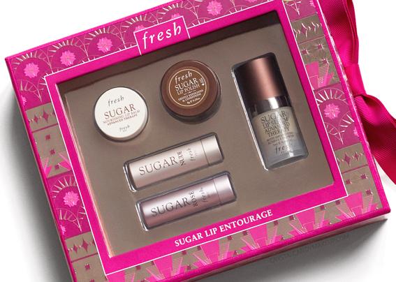 Fresh Holiday 2016 Sugar Lip Entourage Gift Set Review