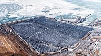 The 44-MW Nanticoke Solar Farm in Ontario. (Credit: Ontario Power Generation) Click to Enlarge.