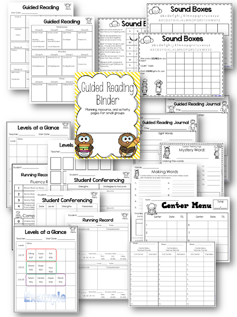 July Teacher By The Beach - Guided reading lesson plan template 3rd grade