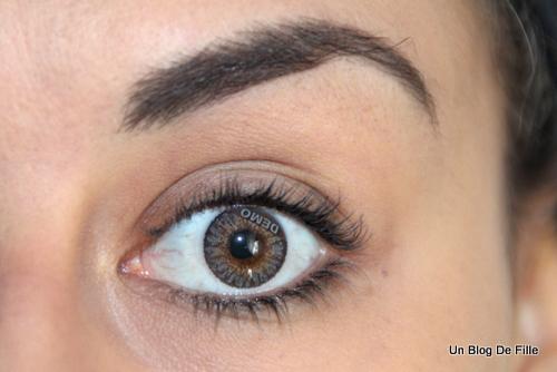 Un blog de fille test lentilles de couleur freshlook colorblend - Couleur qui s accorde ...