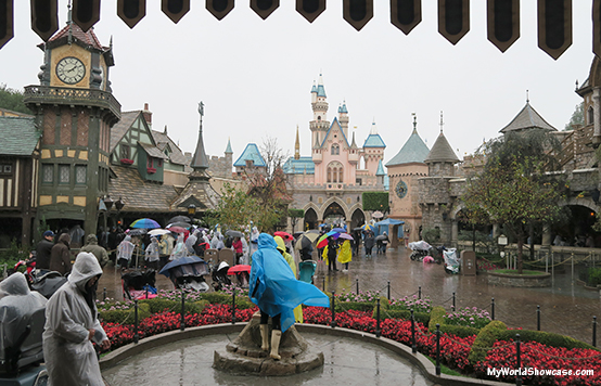 Rainy Days at Disneyland- Fantasyland