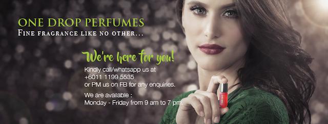 one drop perfumes, one drop perfumes murah, promosi one drop perfumes