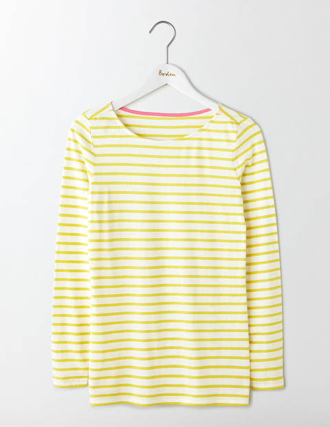 ladies long sleeve breton top 1