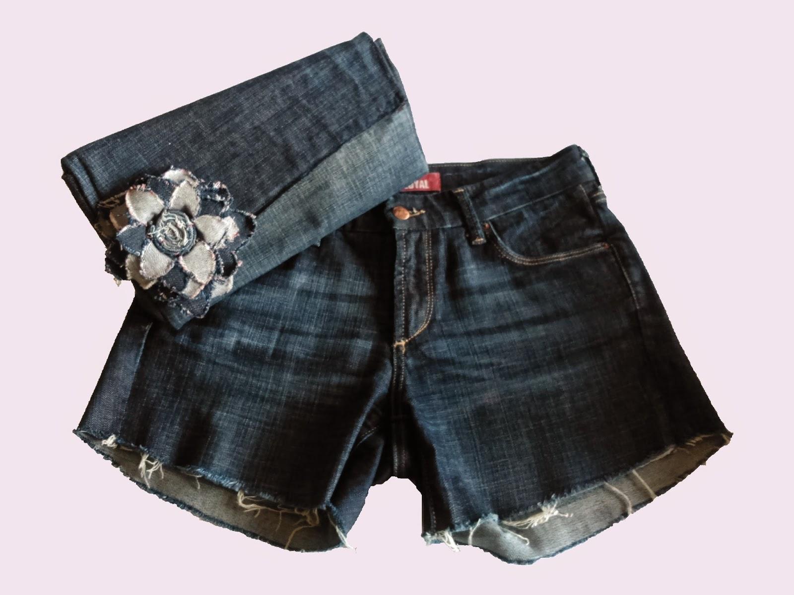 Clutch denim DIY con tela de pantalon vaquero