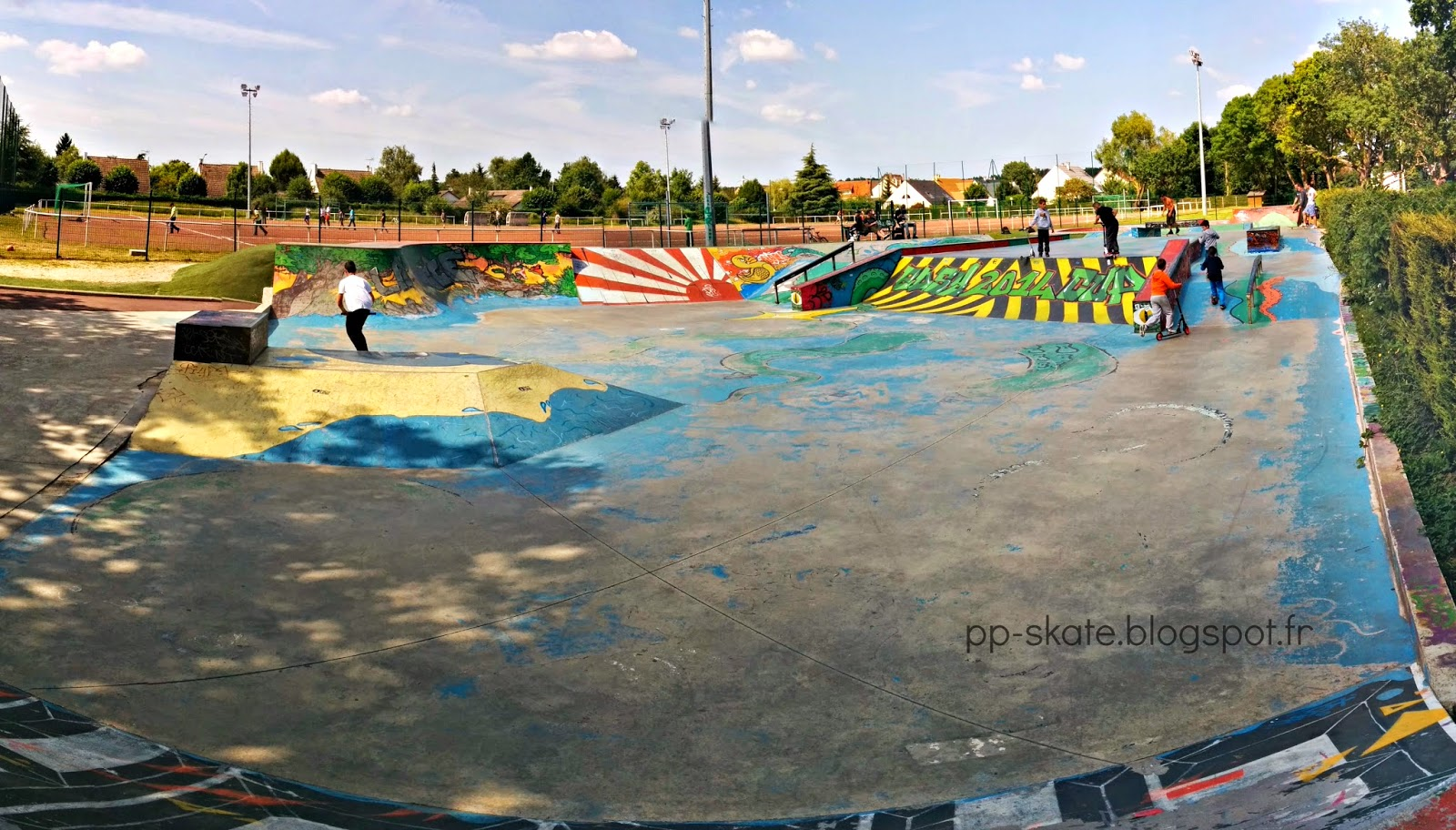 Skatepark Pontault
