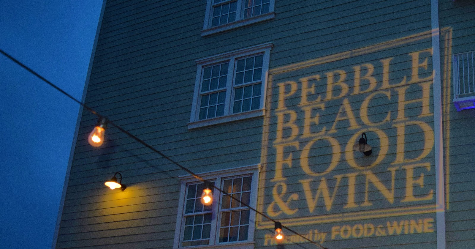9th Annual Pebble Beach Food And Wine 2016 By The