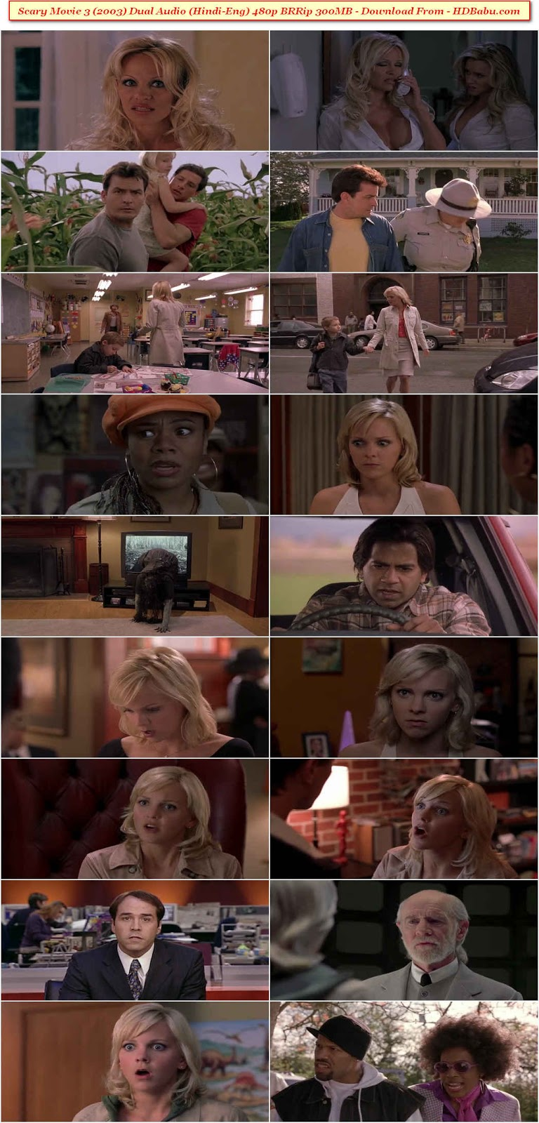 Scary Movie 3 Hindi Dual Audio Movie Download