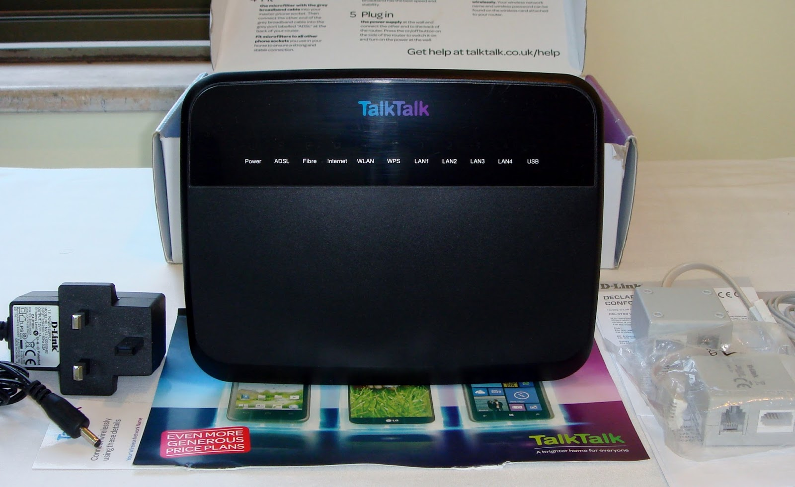 TalkTalk D-Link DSL-3780: Info and Use with Other ISPs