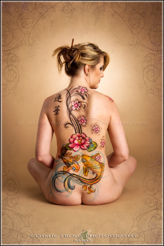 Japanese Bodypaint Backpiece
