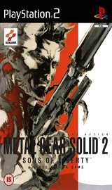 2 - Metal Gear Solid 2: Sons of Liberty PS2