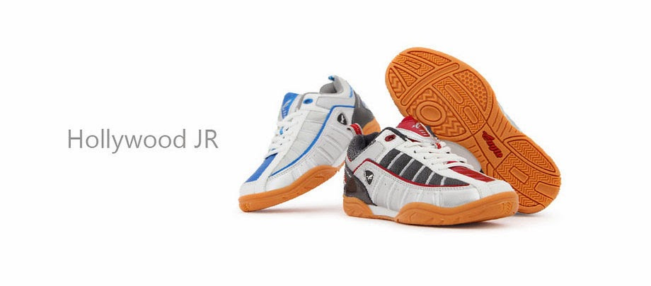 Sepatu Badminton Eagle Hollywood JR. White Blue ... acdec11c26