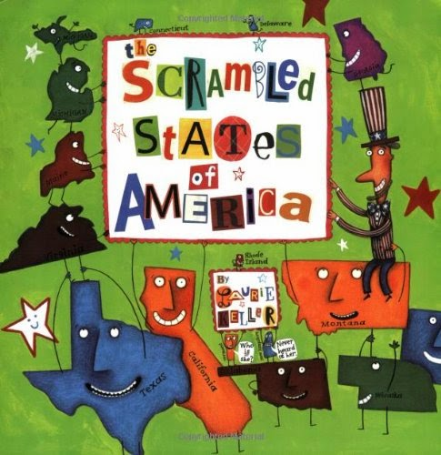 Scrambled States of America, part of book review list about the United States