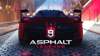 DOWNLOAD GAME ASPHALT 9 LEGENDS APK  2018