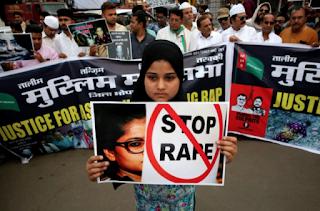 La India ha impuesto la pena de muerte para violadores de menores de edad, tras la indignación social generada.