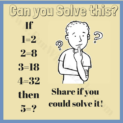 Can you solve this math logic equation puzzle?