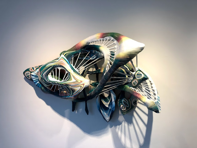 Art exhibit, Crystal Wagner
