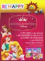 """Promoção """"Academia De Princesas Da Disney"""" da Ri Happy"""
