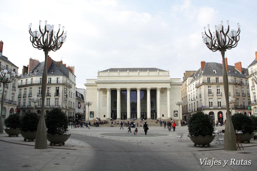 Plaza Graslin, Nantes