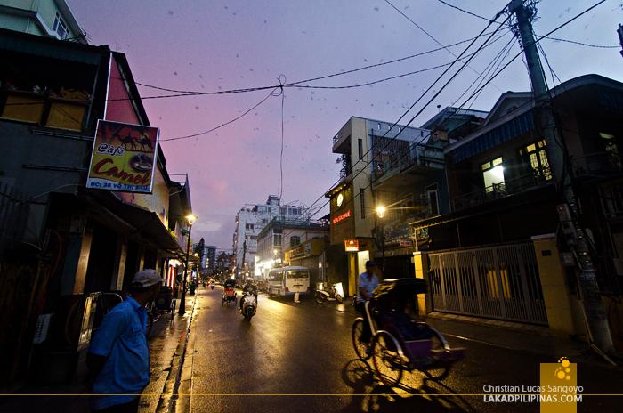 Pham Ngu Lao Street in Hue