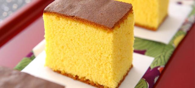 Resultado de imagem para castella sobremesa japonesa