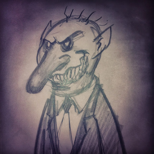 Frank Forte Horror Sketches