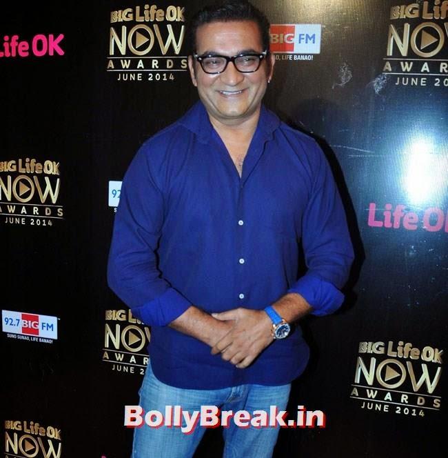 Abhijeet, Life OK Now Awards 2014 Red Carpet Pics