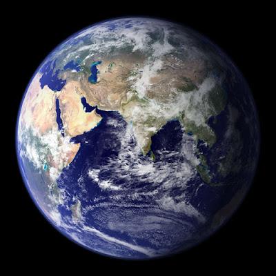 دراسة تؤكد أن الأرض قد تتفرد بالحياة في هذا الكون  179216main_earth-globe-browse