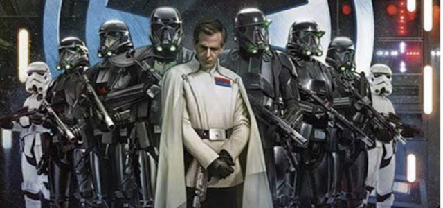 Krennic flanked by his Death Squad