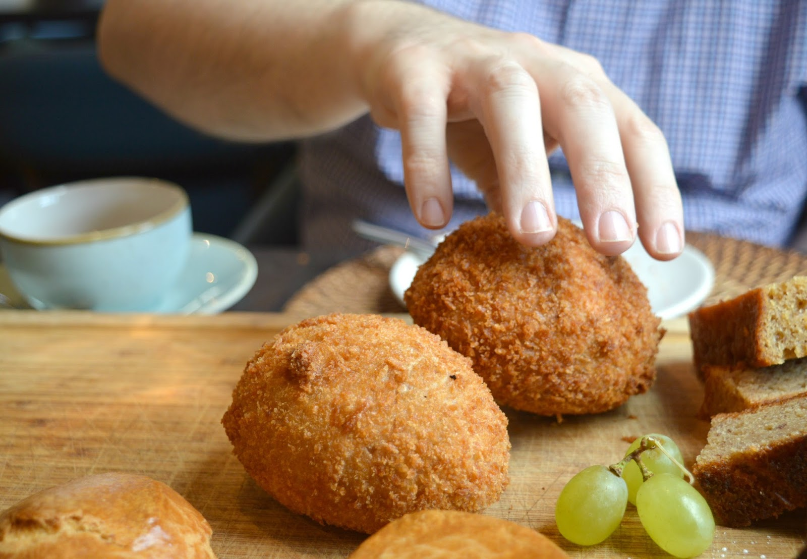 Afternoon Tea at The Painswick Hotel  - Scotch Egg
