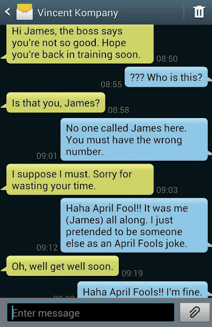 April Fools Prank On Boyfriend