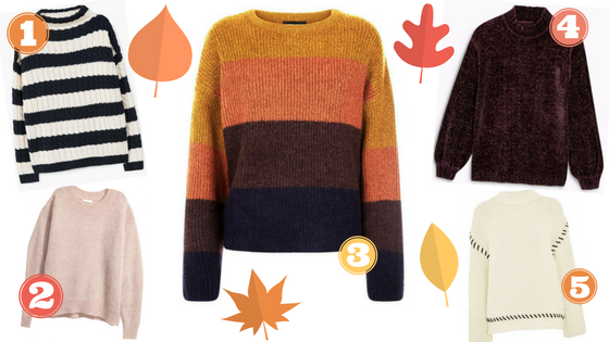 Formidable Joy | UK Fashion, Beauty & Lifestyle Blog | Fashion | 5 of the best fluffy knitwear for autumn | Jumpers | H&M | New Look | Mango | Next | Topshop | Autumn fashion