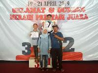 Siswa MTsN 1 Malang Raih Dua Medali Emas Taekwondo Tingkat Jatim