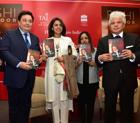 "Rishi Kapoor's Uncensored ""Khullam Khulla"" Autobiography Released"