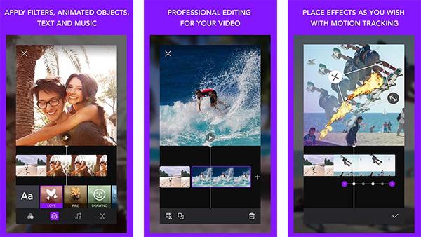 6 تطبيقات للتعديل على الفيديوهات واضافة التأثيرات عليها