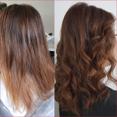 In these simple steps dye your hair in gray-blond color!