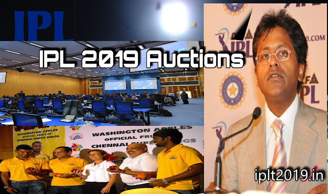 Full list of Sold Players in IPL 2019 Auction
