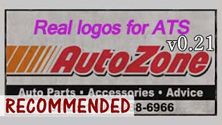 american truck simulator mods, ats mods, ats realistic mods, ATS Real Logos Project v0.21, real logos for ATS, recommendedmodsats