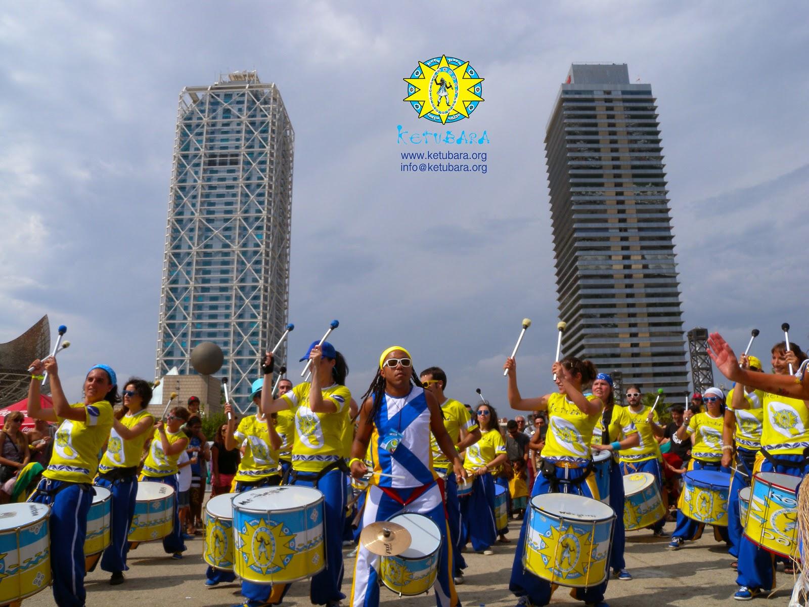 dia de brasil ketubara cultura brasileña barcelona batucada