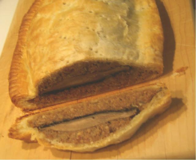 Mushroom Nut Loaf