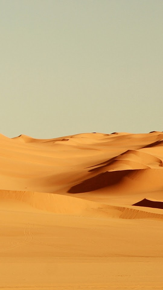 Endless Desert Sand Dunes  Galaxy Note HD Wallpaper