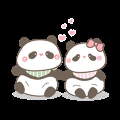 Taki and Ari Lovely Pandas